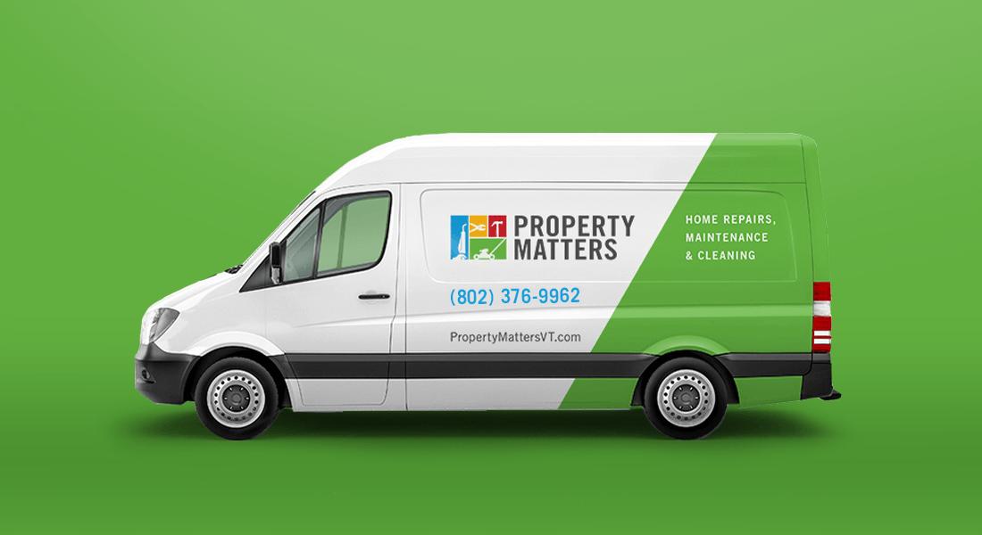 Property Matters Utility Van Graphics
